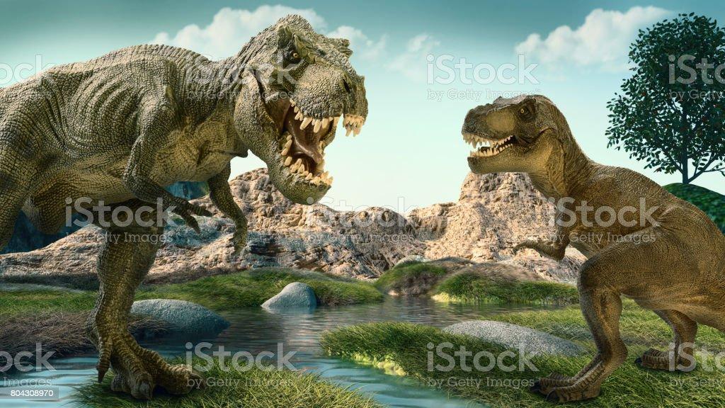 恐竜 ストックフォト