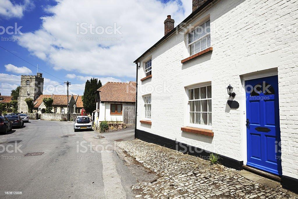 Dinton Village in Buckinghamshire, England royalty-free stock photo