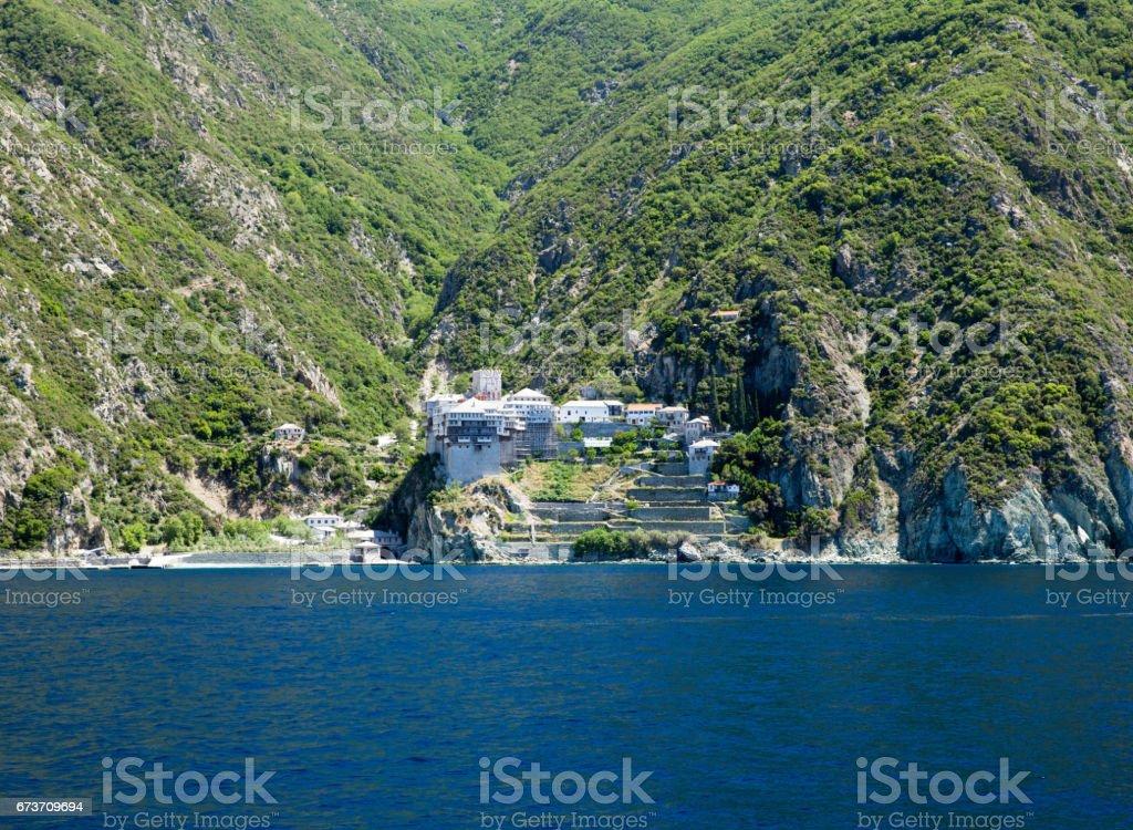 Dionissiou monastery, stock photo