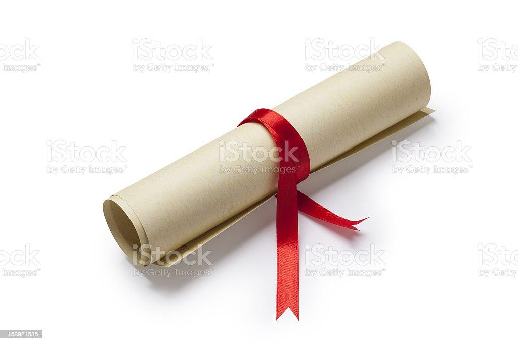 Diploma - Royalty-free Award Stock Photo
