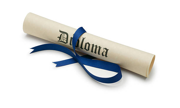 diploma - diploma stock photos and pictures