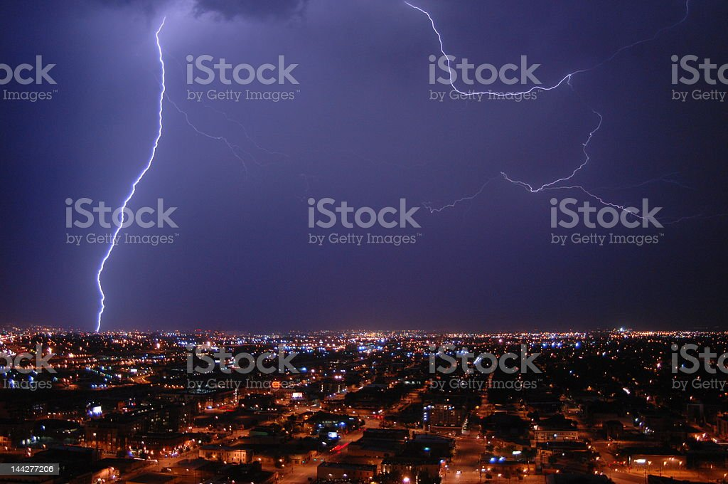 Direct Hit 1 royalty-free stock photo