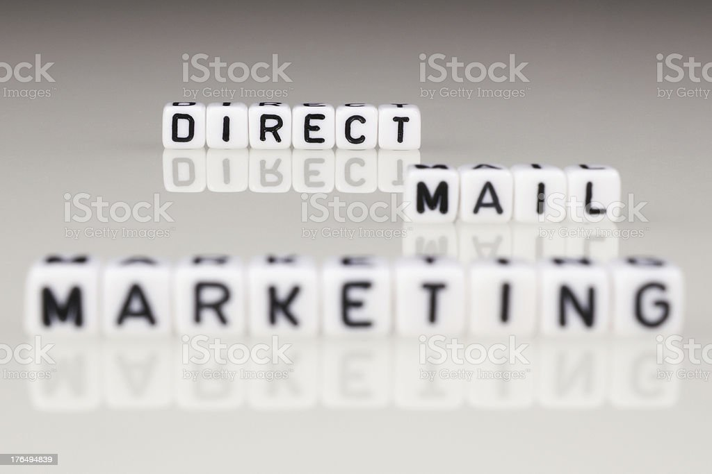 Direct Mail Marketing stock photo