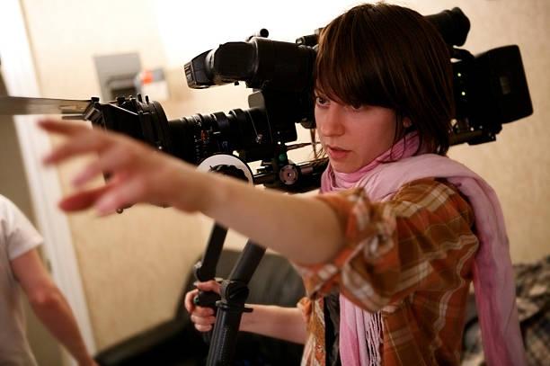 Directing the Shot stock photo