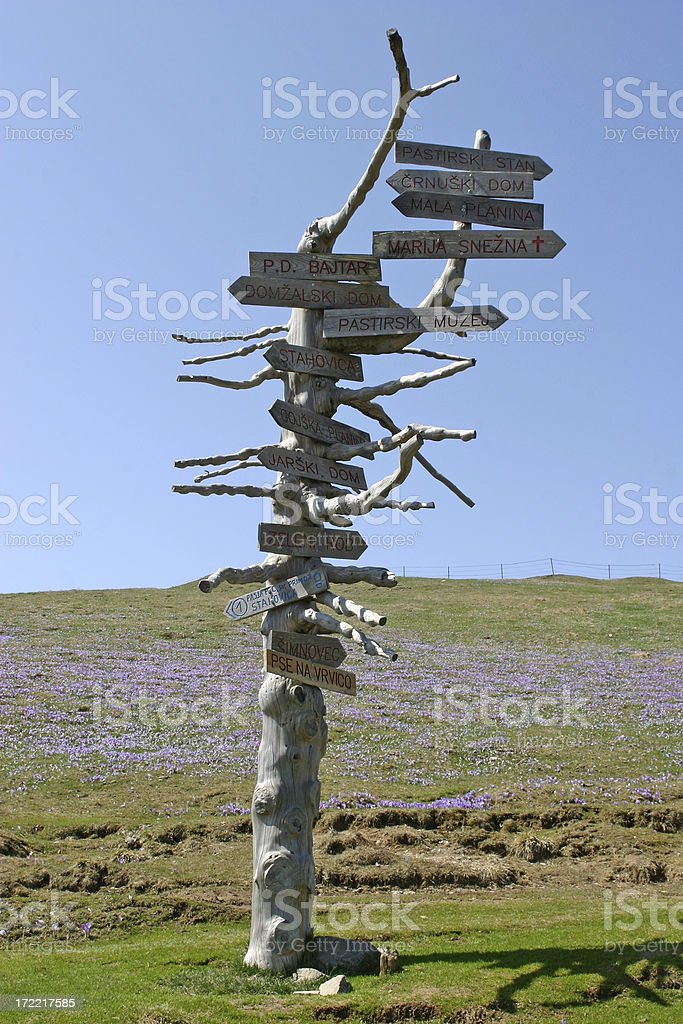 Direction arrows royalty-free stock photo