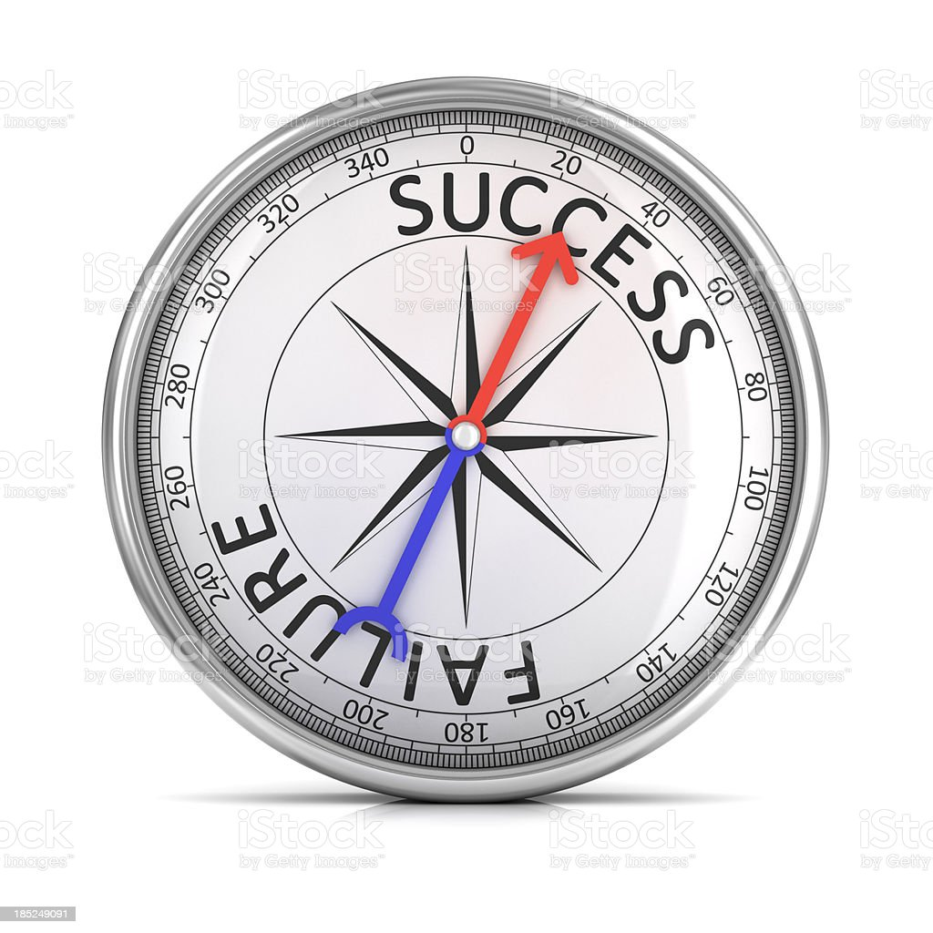 direction of success royalty-free stock photo