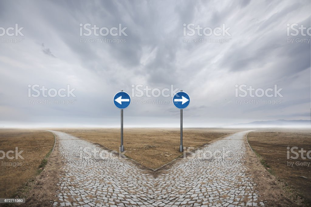 Direction stock photo