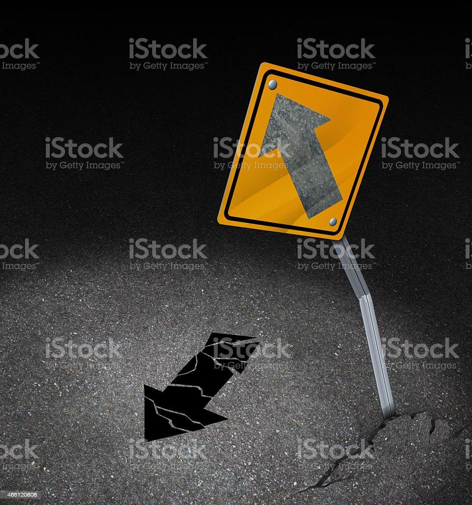 Direction Problem stock photo