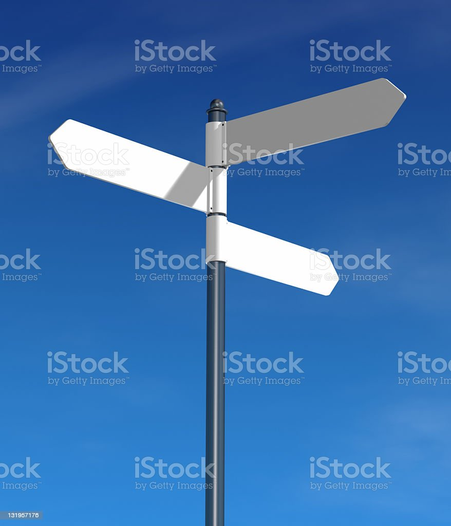 Direction sign royalty-free stock photo