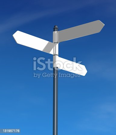 istock Direction sign 131957176