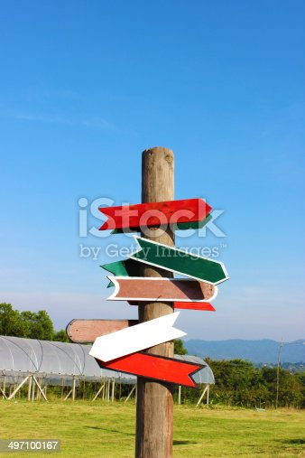186103814istockphoto Direction Signs 497100167