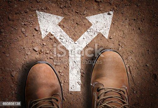 istock Directional arrow 693858138