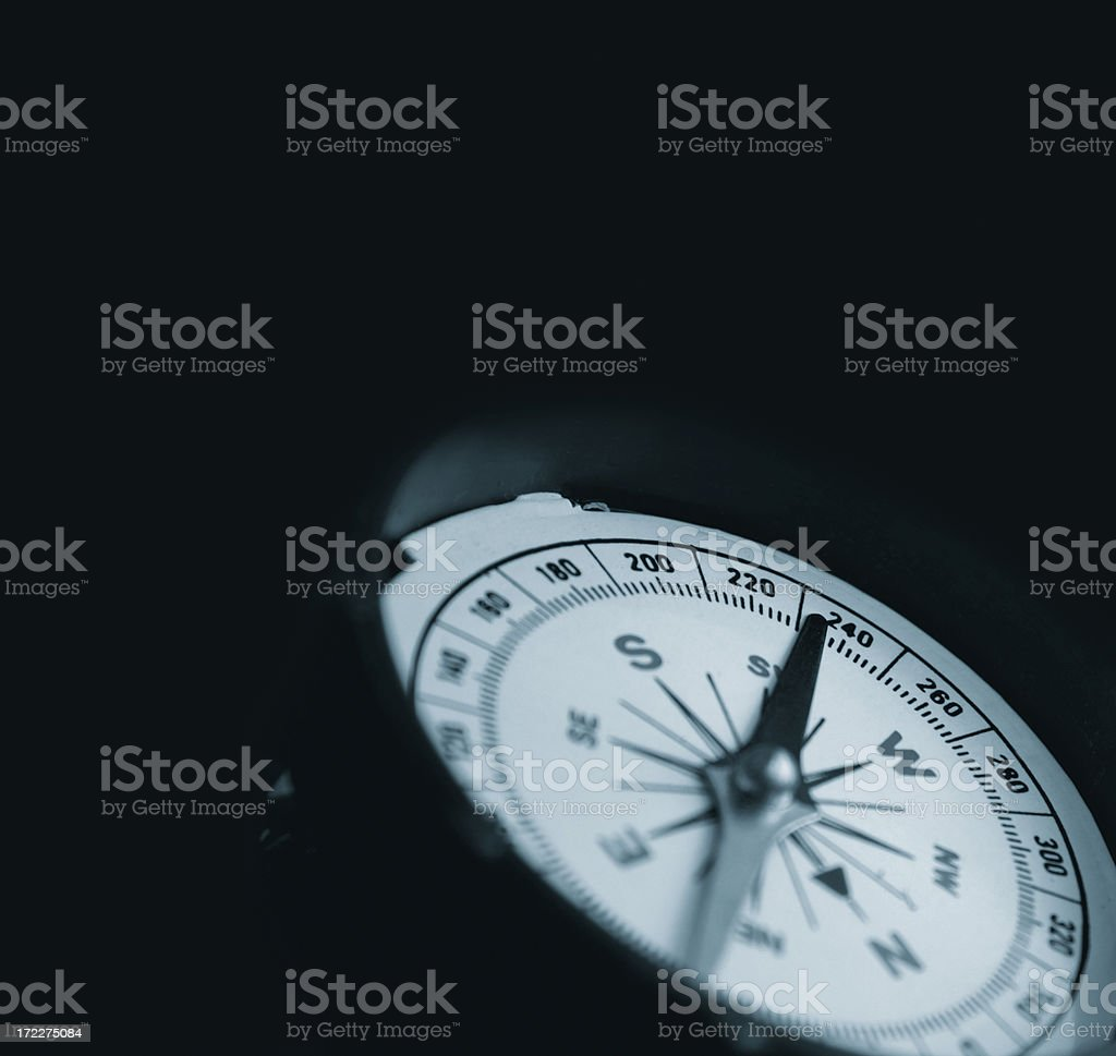 Directional compass stock photo