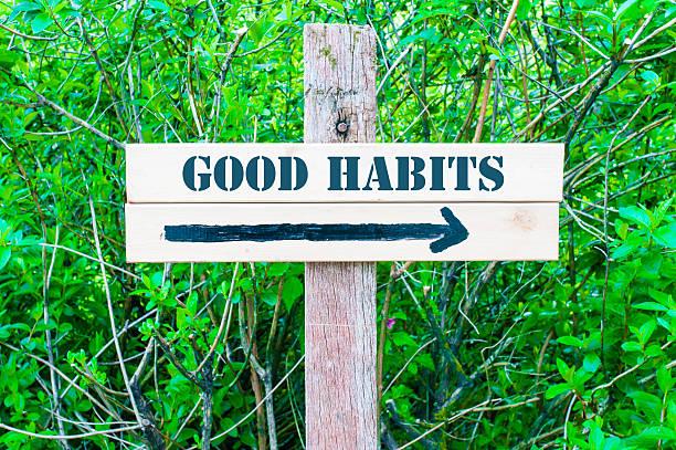 Gute Gewohnheiten Wegweiser – Foto