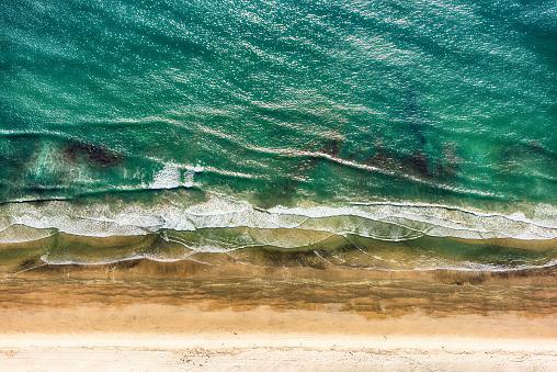 istock Directly Above a California Beach 951782268
