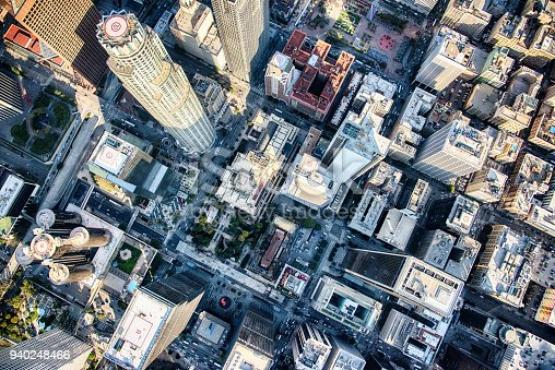 istock Directly Above Downtown Los Angeles 940248466