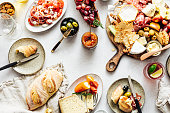 istock Directly above view of tapas 1224986732