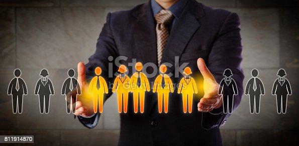 istock Director Building A Mixed Gender Management Team 811914870
