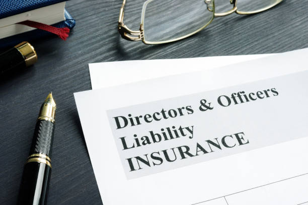 Directors and Officers Liability D&O insurance application form. Directors and Officers Liability D&O insurance application form. director stock pictures, royalty-free photos & images