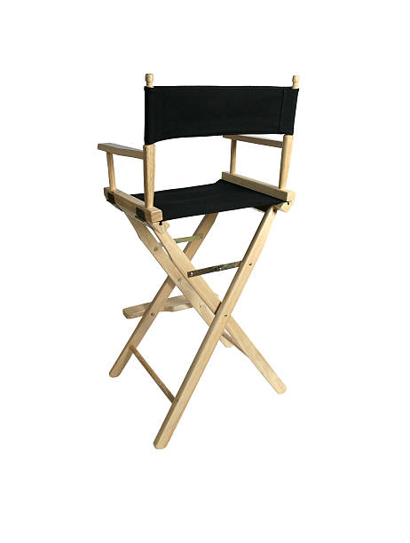 director's chair - director stock photos and pictures