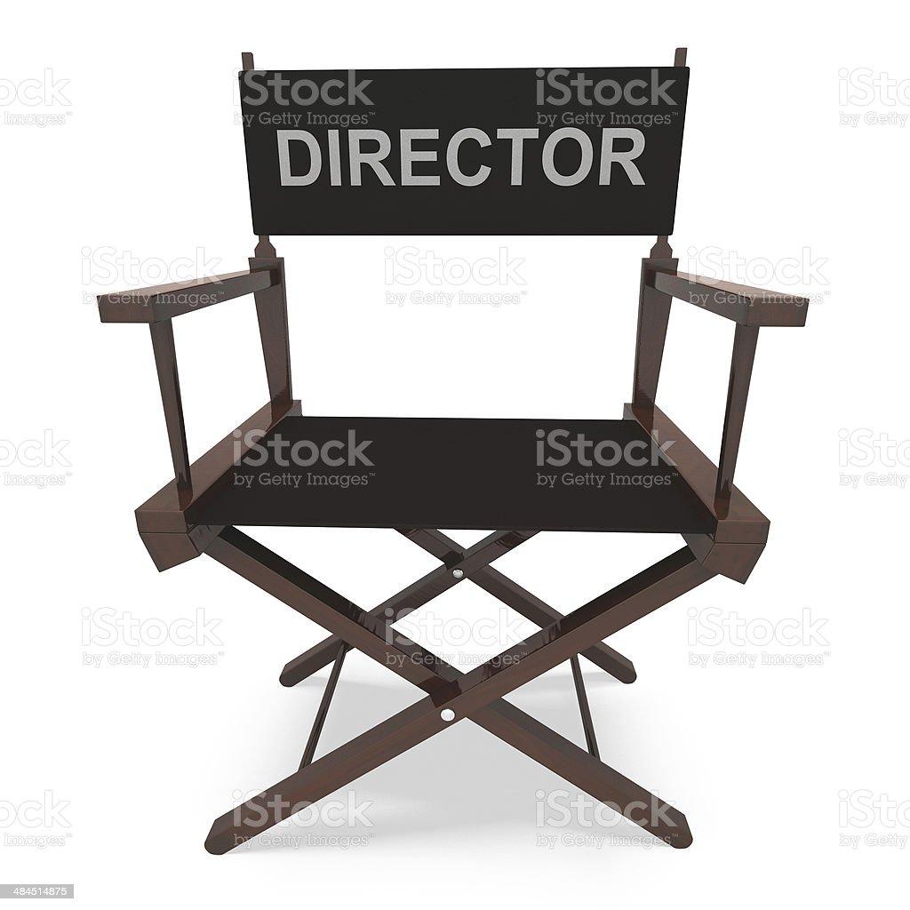Siège De Metteur En Scène Des Spectacles Producteur De Film Ou Un ...