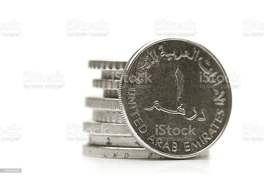 Dirham stock photo