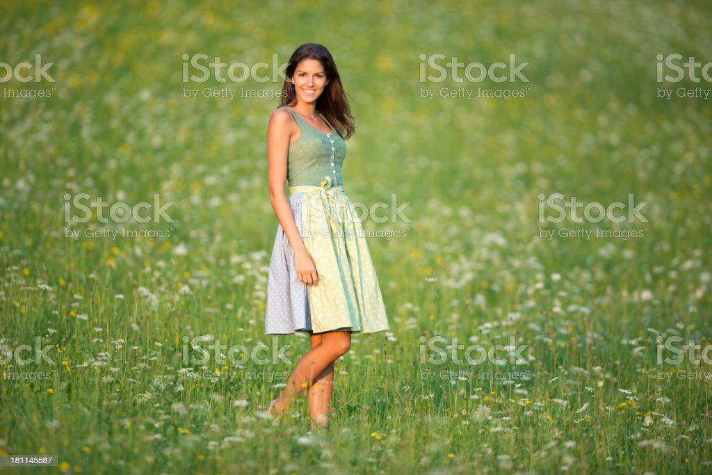 Dirndl Fashion stock photo