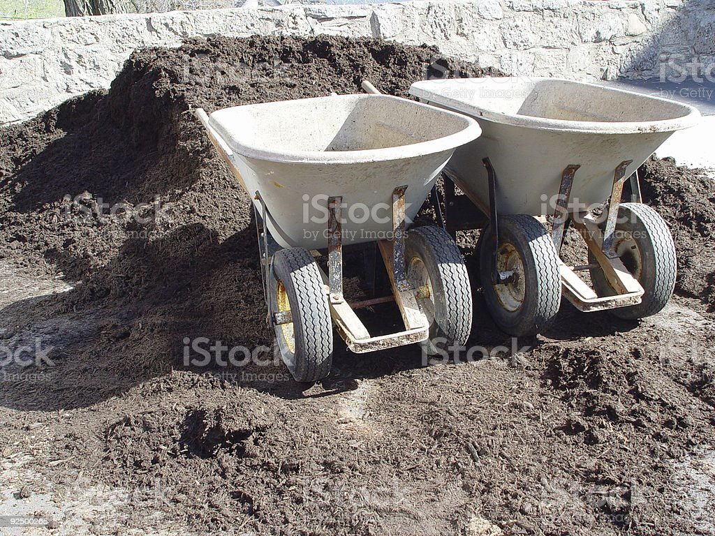 dirt and wheel royalty-free stock photo