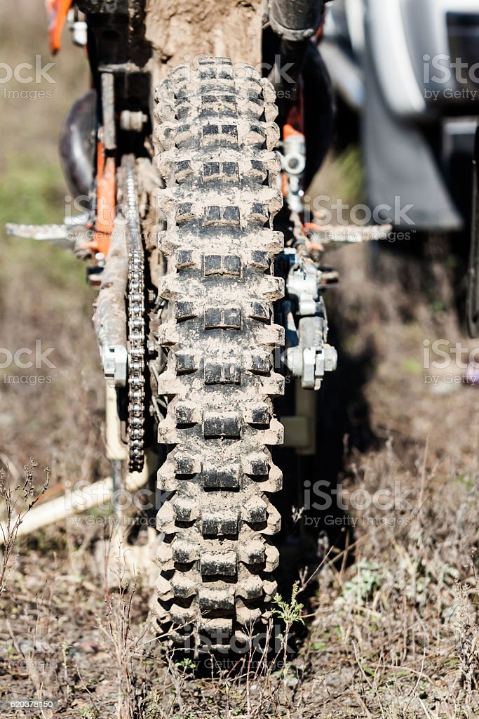 Dirt Bike close-up view. foto de stock royalty-free