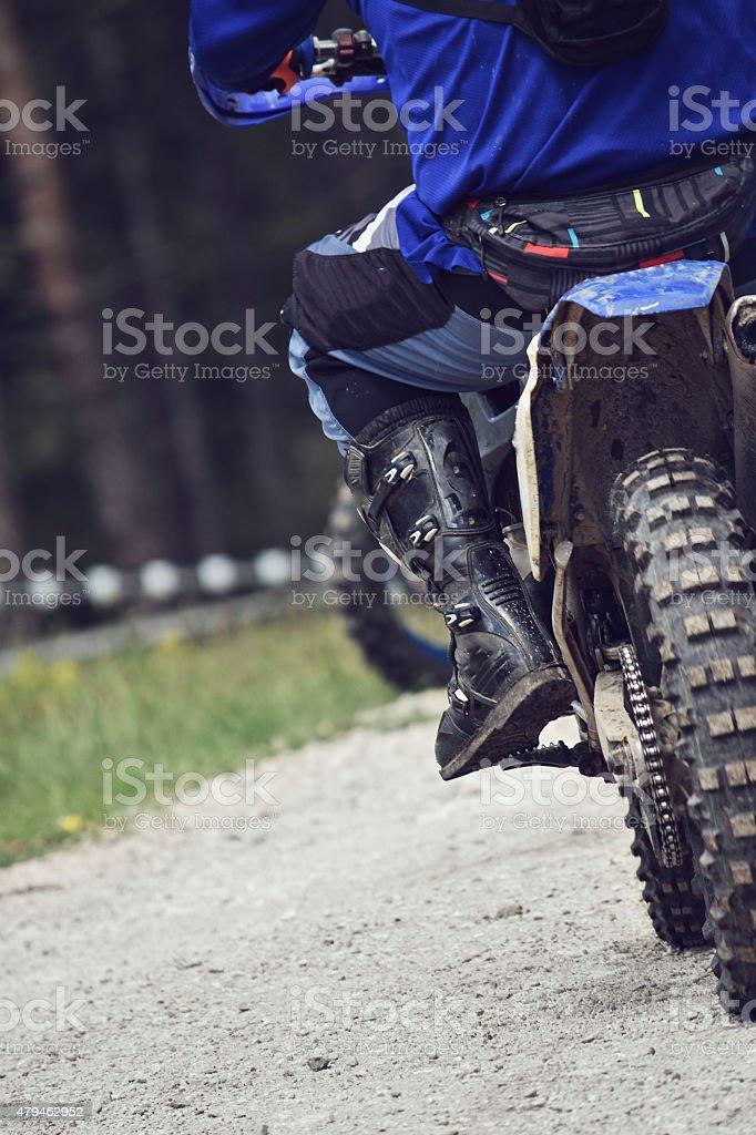 dirt bike stock photo