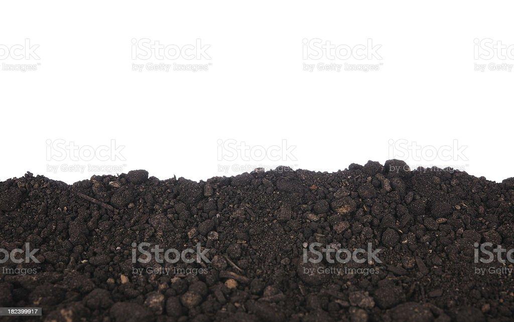 Dirt Border stock photo