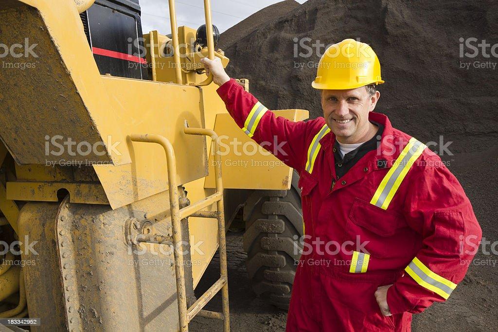Dirt Digger royalty-free stock photo