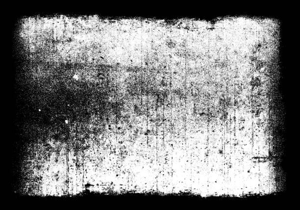 Schmutz-Film-Frame-overlay – Foto