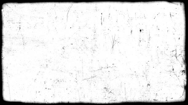 dirt film frame overlay stock photo
