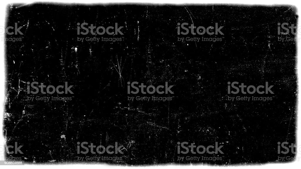 dirt film frame overlay stock photo