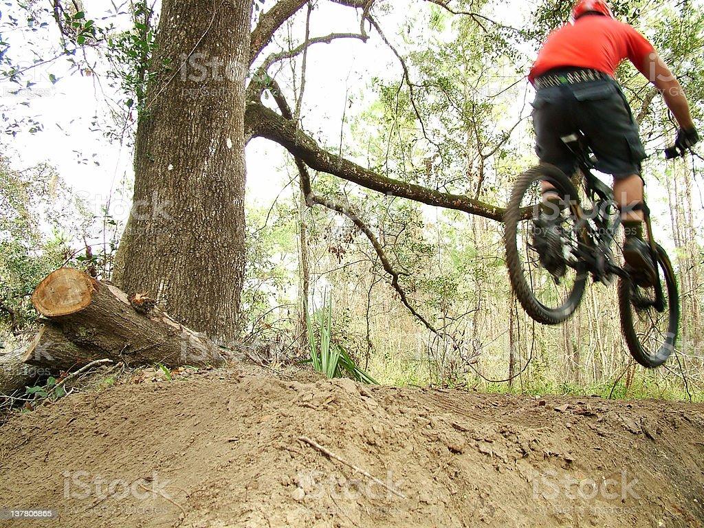Dirt Jump stock photo
