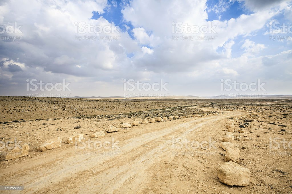 Dirt Track royalty-free stock photo