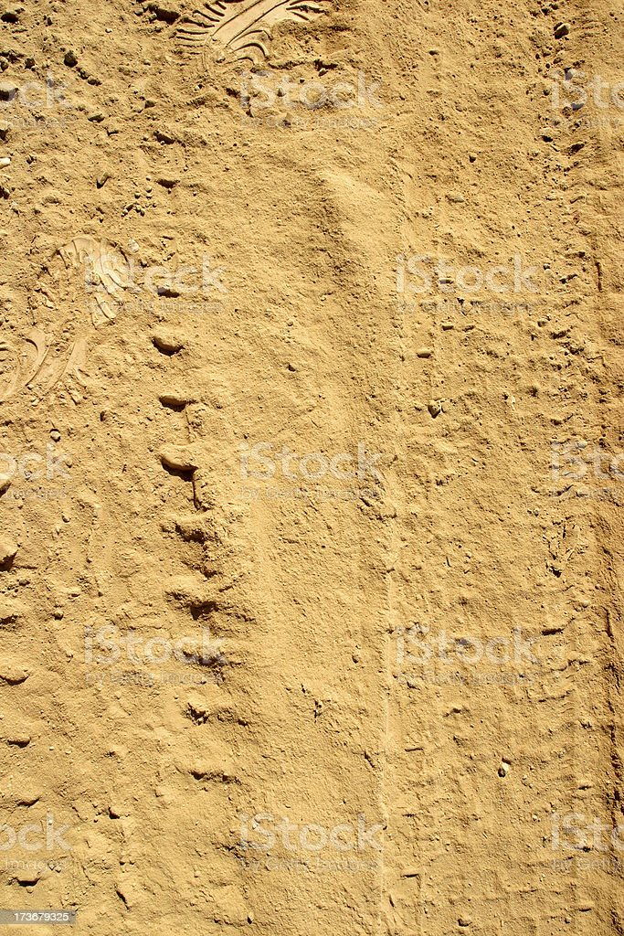 Dirt tracks royalty-free stock photo