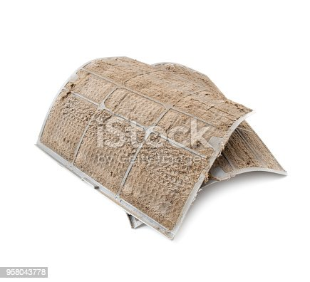 istock Dirty AC filters 958043778