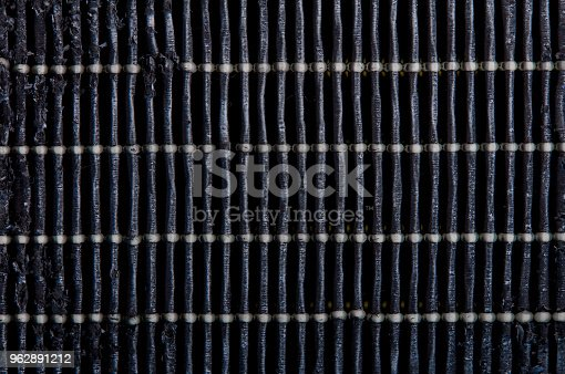 istock Dirty air filter. High efficiency air filter for HVAC system. 962891212