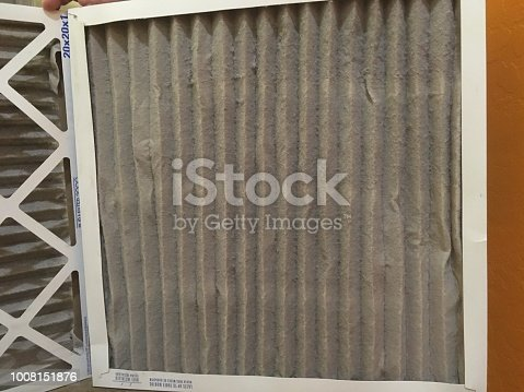 577326464 istock photo Dirty air filters 1008151876