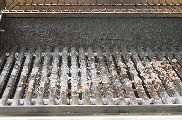 Dirty Barbecue-grill – Foto