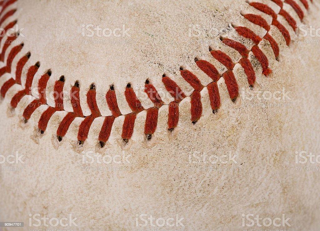 Dirty Baseball stock photo