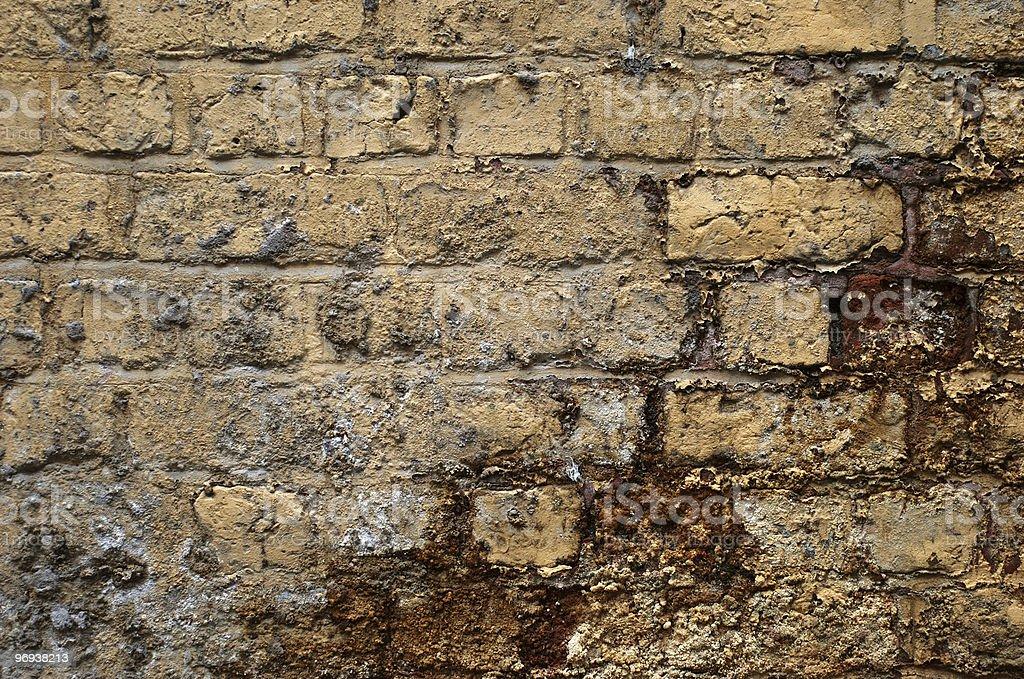 Dirty brick wall texture royalty-free stock photo