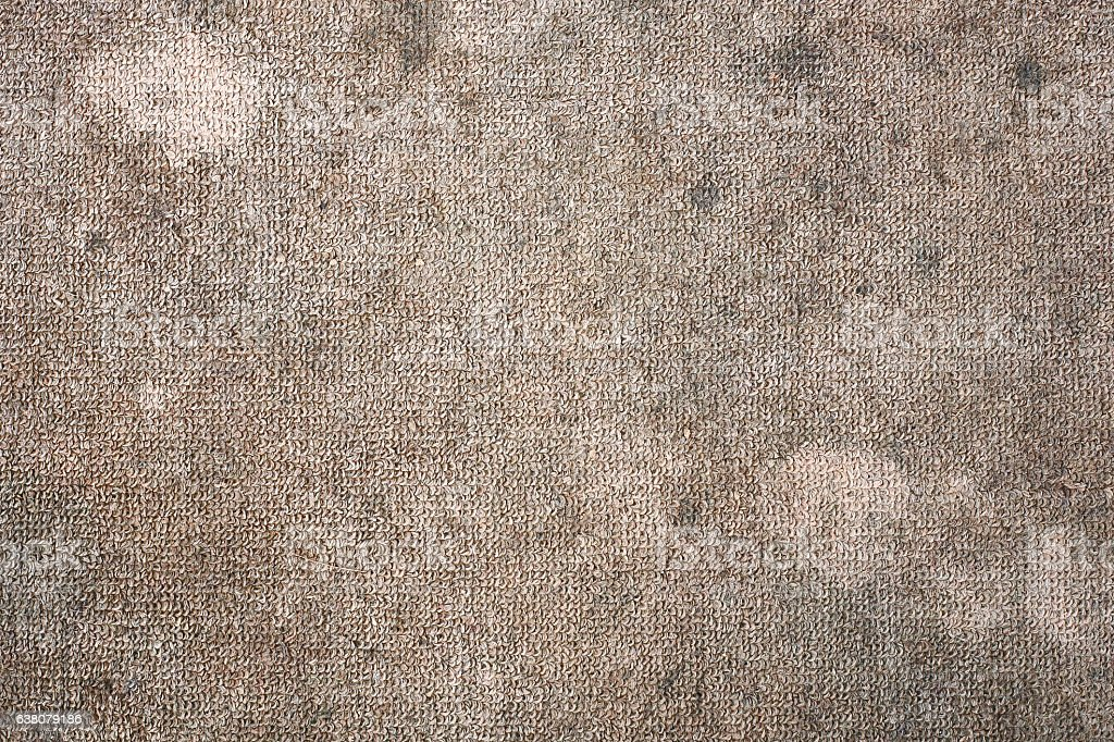 Dirty carpet - foto de stock