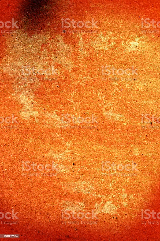 Dirty cracked paper royalty-free stock photo