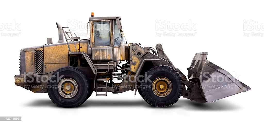 Dirty Digger royalty-free stock photo