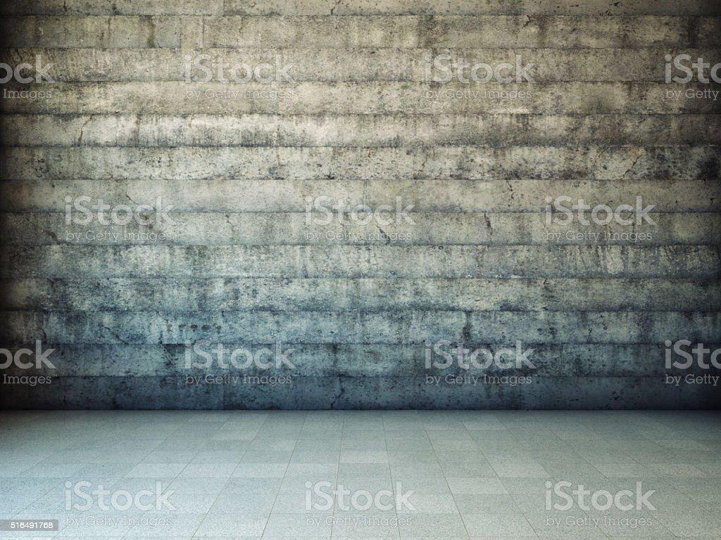 Dirty grunge wall stock photo