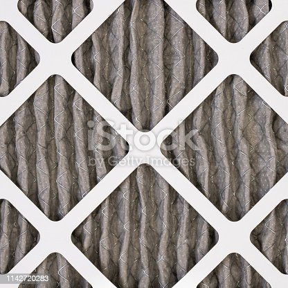 577326464 istock photo Dirty Home Air Filter 1142720283