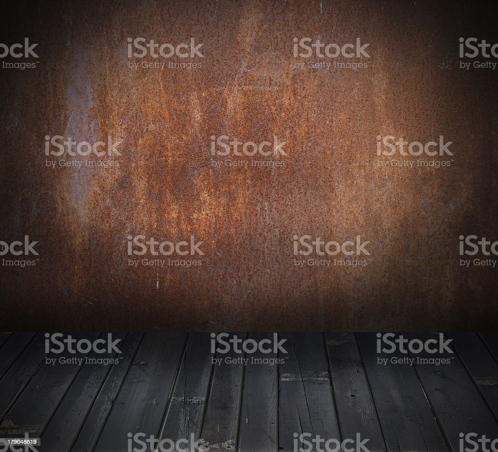 dirty interior backdrop royalty-free stock photo
